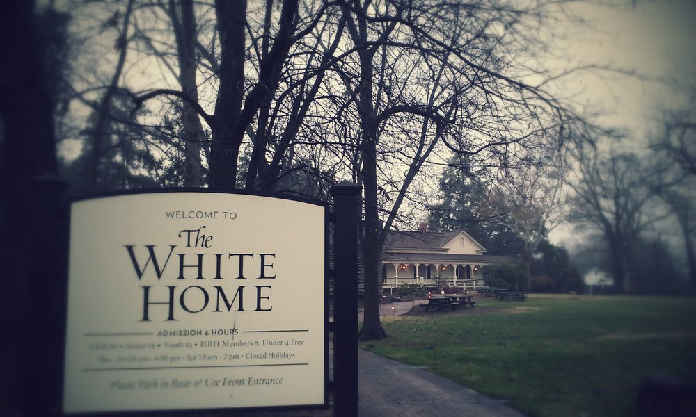 Special Hours - The White Home will be open for tours this Saturday, from 11am - 3pm.