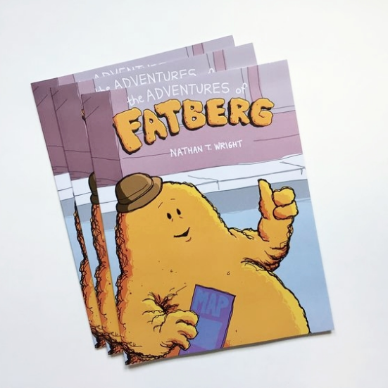 The Adventures of Fatberg children's book
