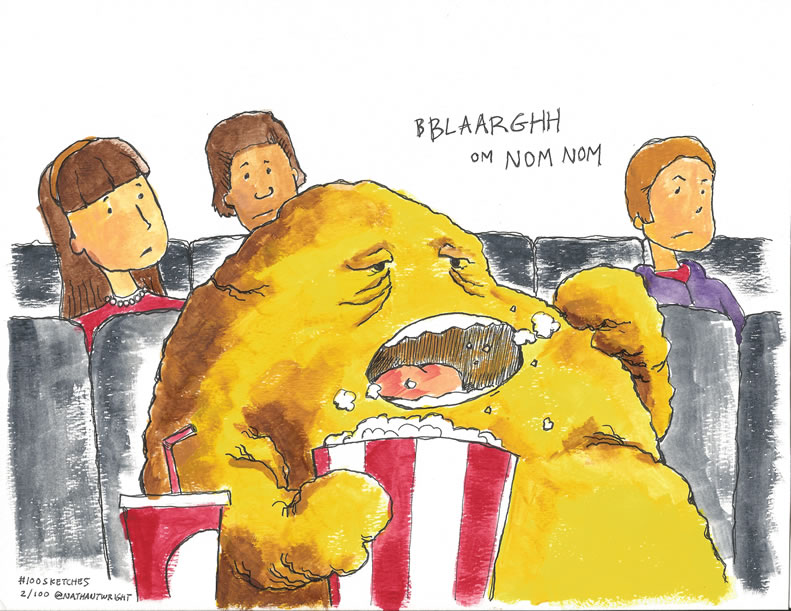 Fatberg at the movies