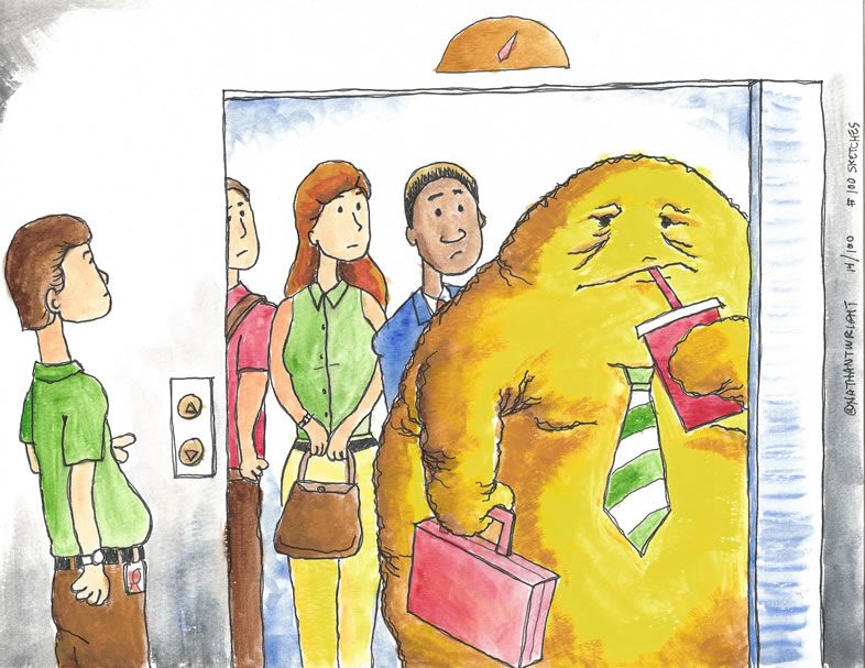 Fatberg goes to work