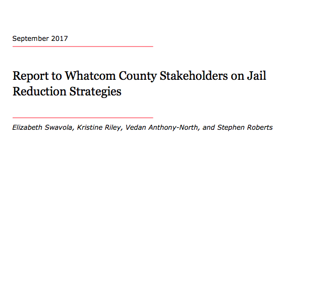 Vera Report to Whatcom County, September 2017