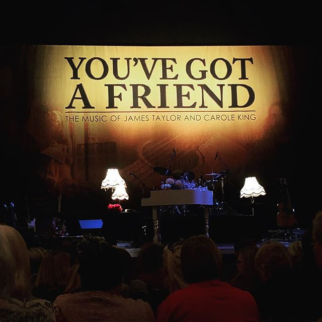 Super exciting watching our very own @steffanjamesmusic in You've Got A Friend at @theatreroyalbtn 🙌🏻🎶👏🏻🎸 #guitarist #singer #tribute #jamestaylor #caroleking #proudfriends #bandmates #youvegotafriend