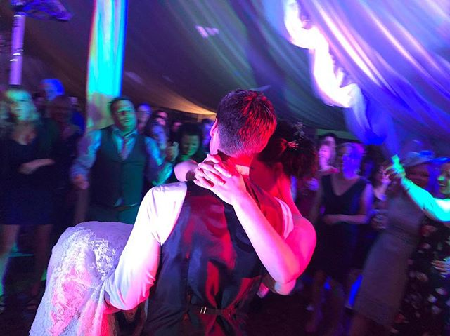 Congratulations Gethin and Sophie! 👰🏻🤵🏻🎉🎶 . . . . #wedding #mrandmrs #carriedaway #inhisarms #holdme #dancing #party #weddingparty #firstdance #lastdance #husbandandwife #married #marriage #happilyeverafter #happycouple #weddingband #weddingday #brideandgroom #livemusic