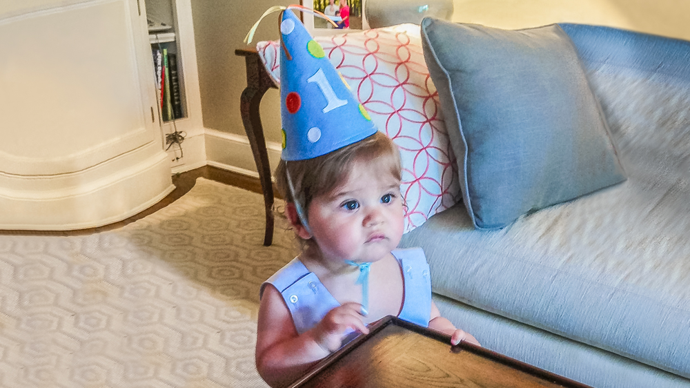 Happy Birthday, Baby: Reflections From 1 Year -