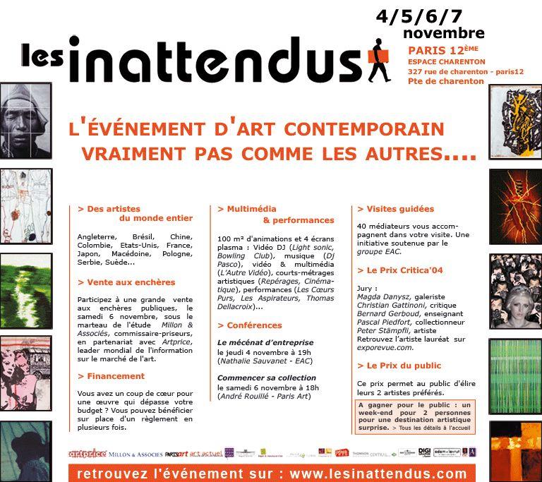 2004.11. -Les inatendus-flyer.jpg