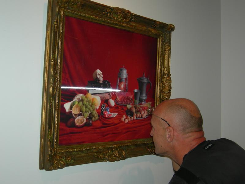 Korczowski looking at Ars Moriendi by Dellfina.jpg