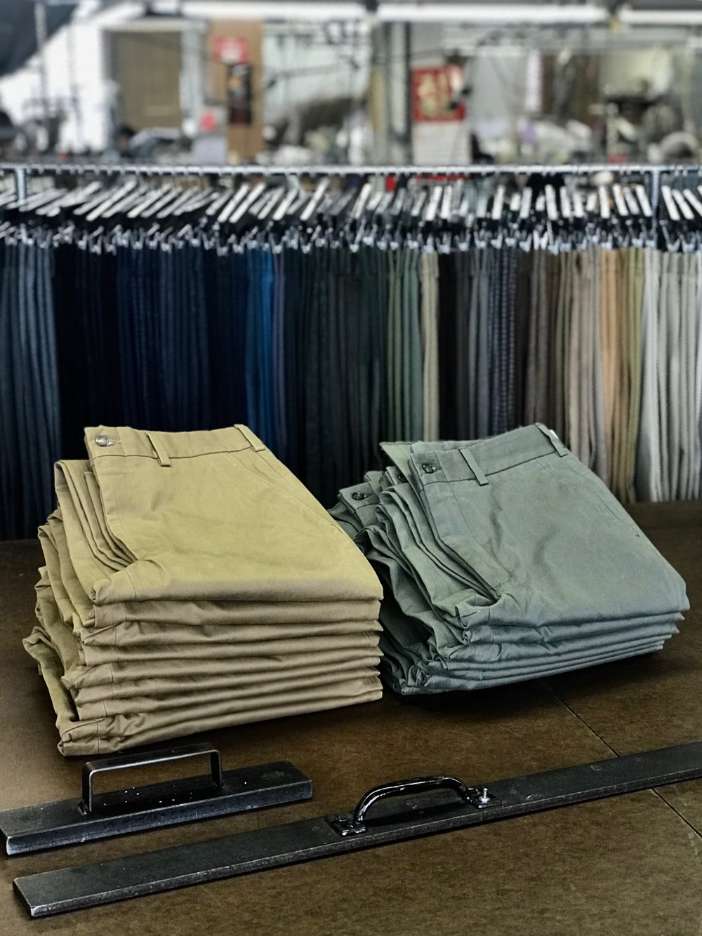 "Welcome to the Hertling Factory Outlet Store - In our pursuit of manufacturing the finest trousers, we purchase a great deal of fabric, produce samples and inventory for Hertling's design and development- as well as our retail partners. Our Factory Store provides customers an opportunity to buy beautifully handcrafted trousers at a unique price and allows us to run lean.We invite you to take advantage of deep savings for this selection of samples, excess inventory, or styles from previous seasons. We'll constantly be adding inventory as it is available, so check back frequently for hidden ""factory finds"".Sales of this special opportunity are final, but we will always take great care of you if an issue arises. Items in our Factory Store will ship complimentarily.Enjoy the shopping."