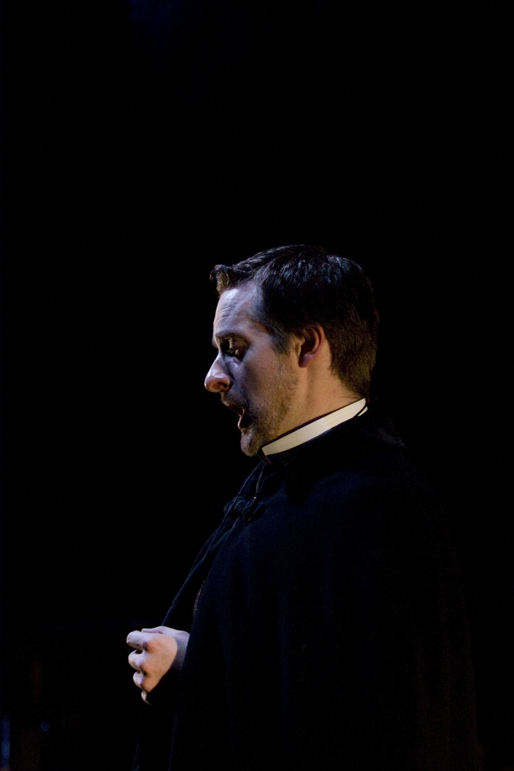 Andrew Foster Williams as Goloud in the 2008 Independent Opera production of Pelleas in London.