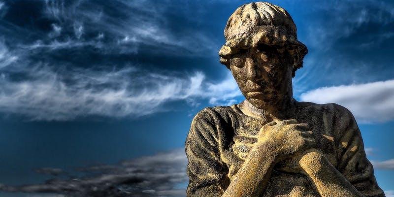 Detail of Rowan Gilespie's sculpture honouring the convict women and children of Ireland transported to Van Diemen's Land