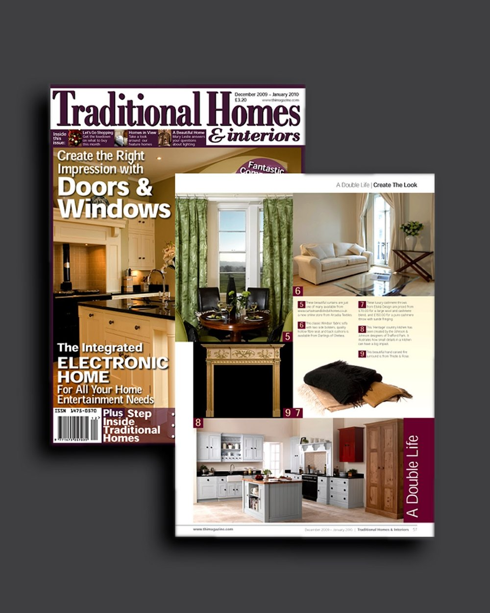 Traditional Homes & Interiors December 2009 - January 2010 Traditional Homes & Interiors December 2009 - January 2010