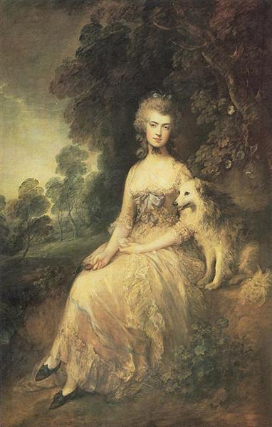 Mrs Mary Robinson, 'Perdita', 1779, Thomas Gainsborough