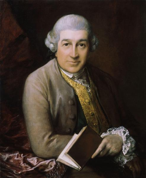 Portrait of David Garrick, actor, 1770, Thomas Gainsborough
