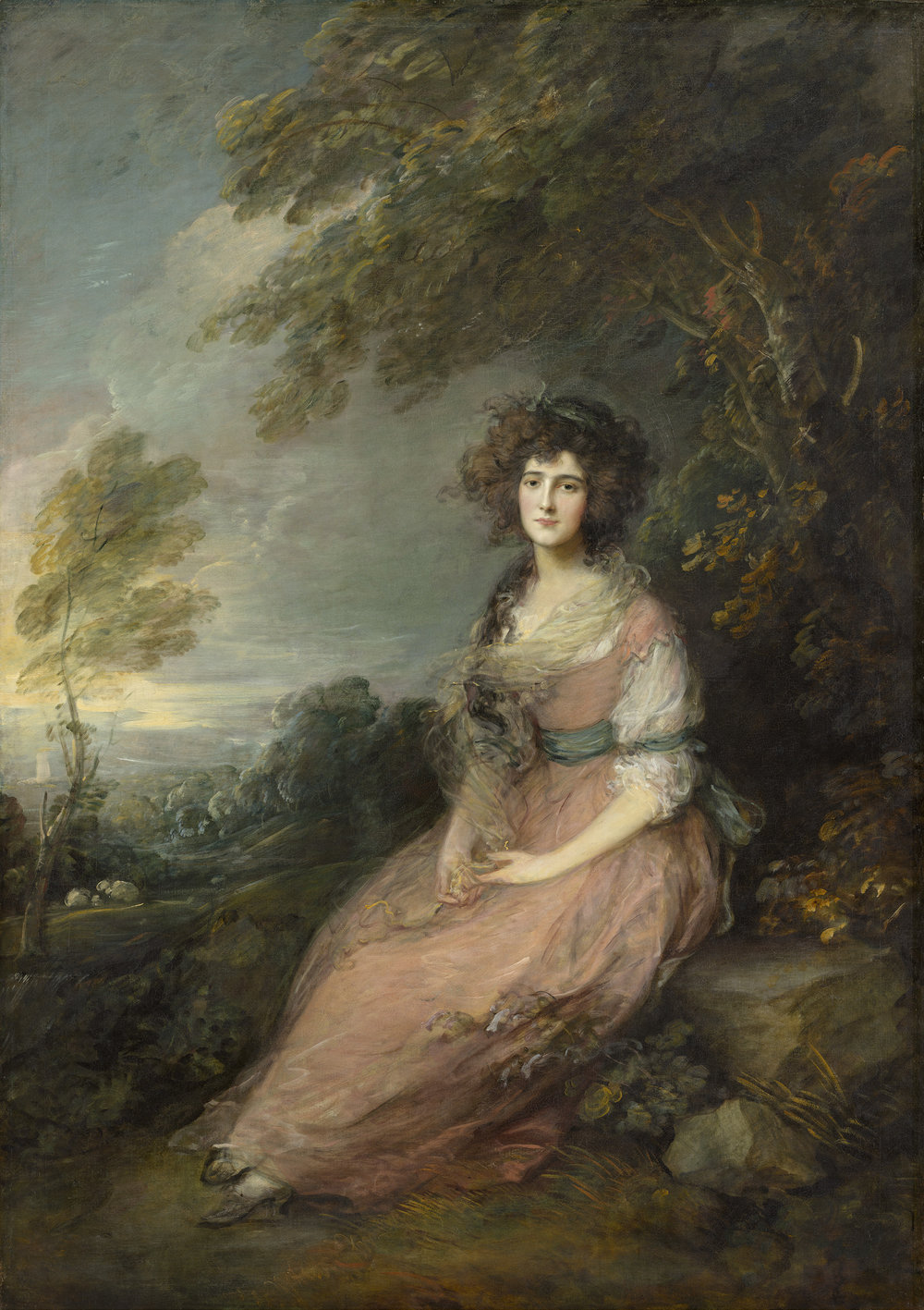 Mrs Richard Brinsley Sheridan, 1787, Thomas Gainsborough