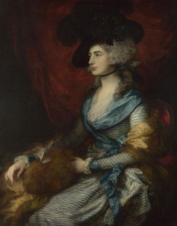 Sarah Siddons, 1785, Thomas Gainsborough