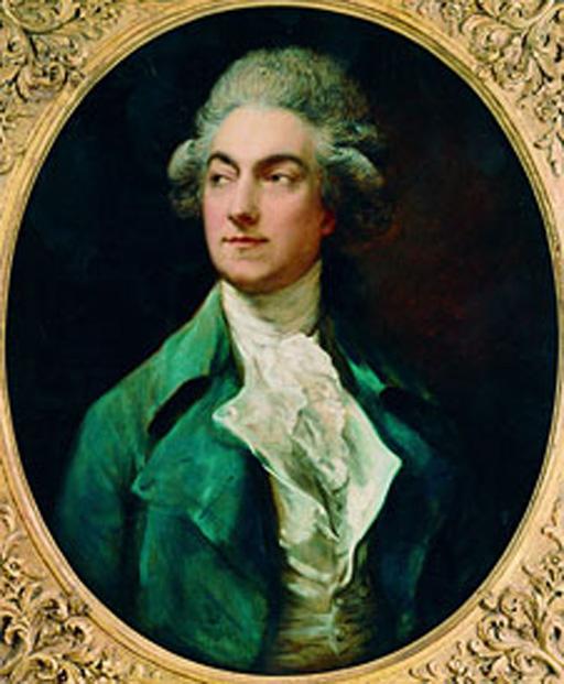 Gaëtan Vestris, dancer, 1777, Thomas Gainsborough