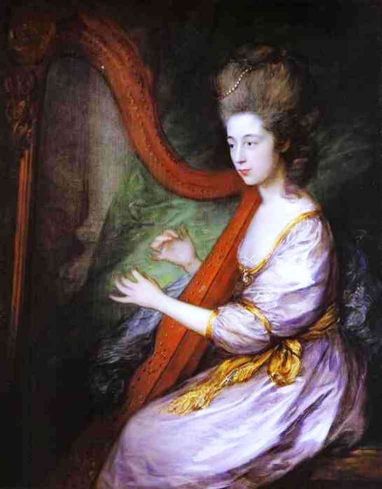 Lady Louisa Clarges, 1778, Thomas Gainsborough
