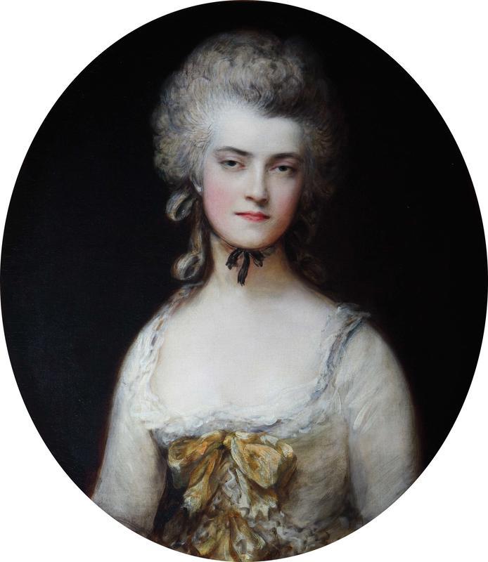 Study of Mary Robinson for her portrait as Perdita, 1779, Thomas Gainsborough