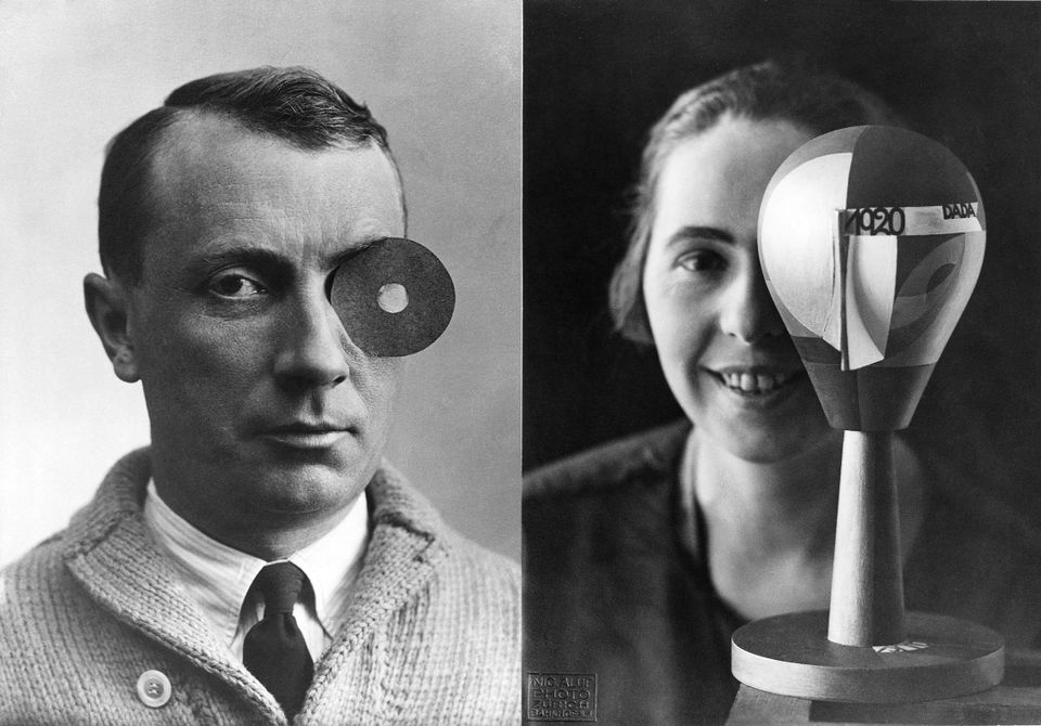 Sophie Taeuber-Arp and Hans Arp