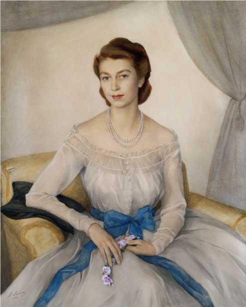 Portrait of HRH Princess Elizabeth, Duchess of Edinburgh.jpg