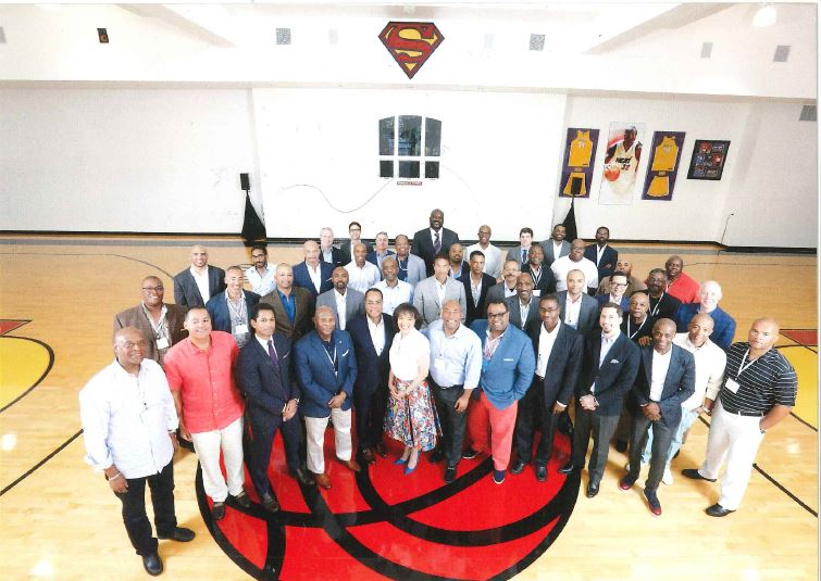 Business leaders from across the country gather at Shaq's House for a Credit Suisse Advisory Board meeting