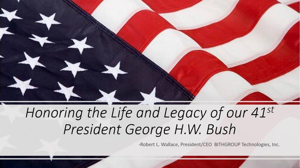Bush Condolences.JPG