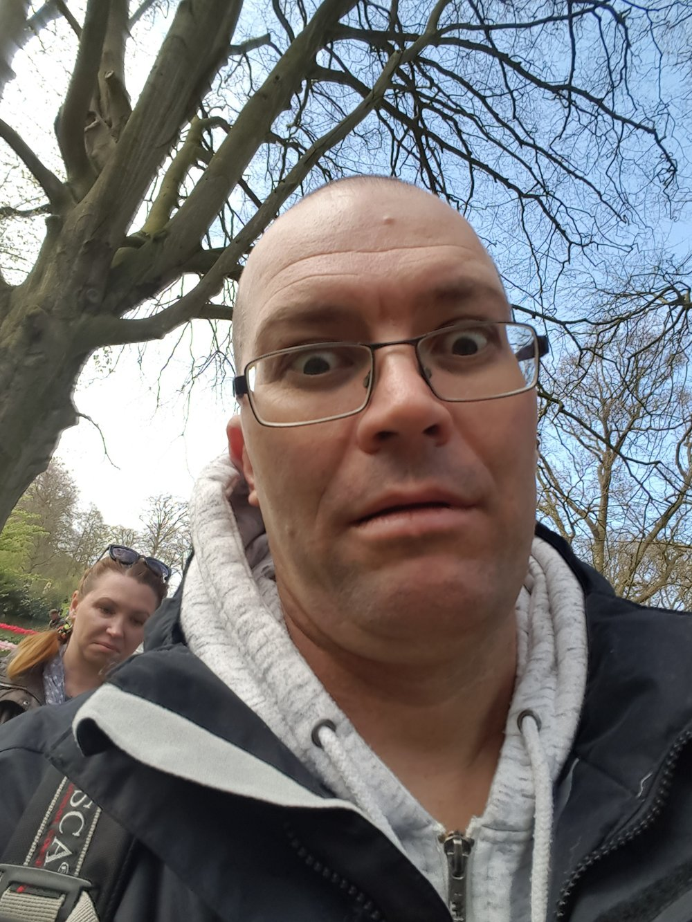 This was the face after 4 hours at Keukenhof. This photo had me laughing for days!
