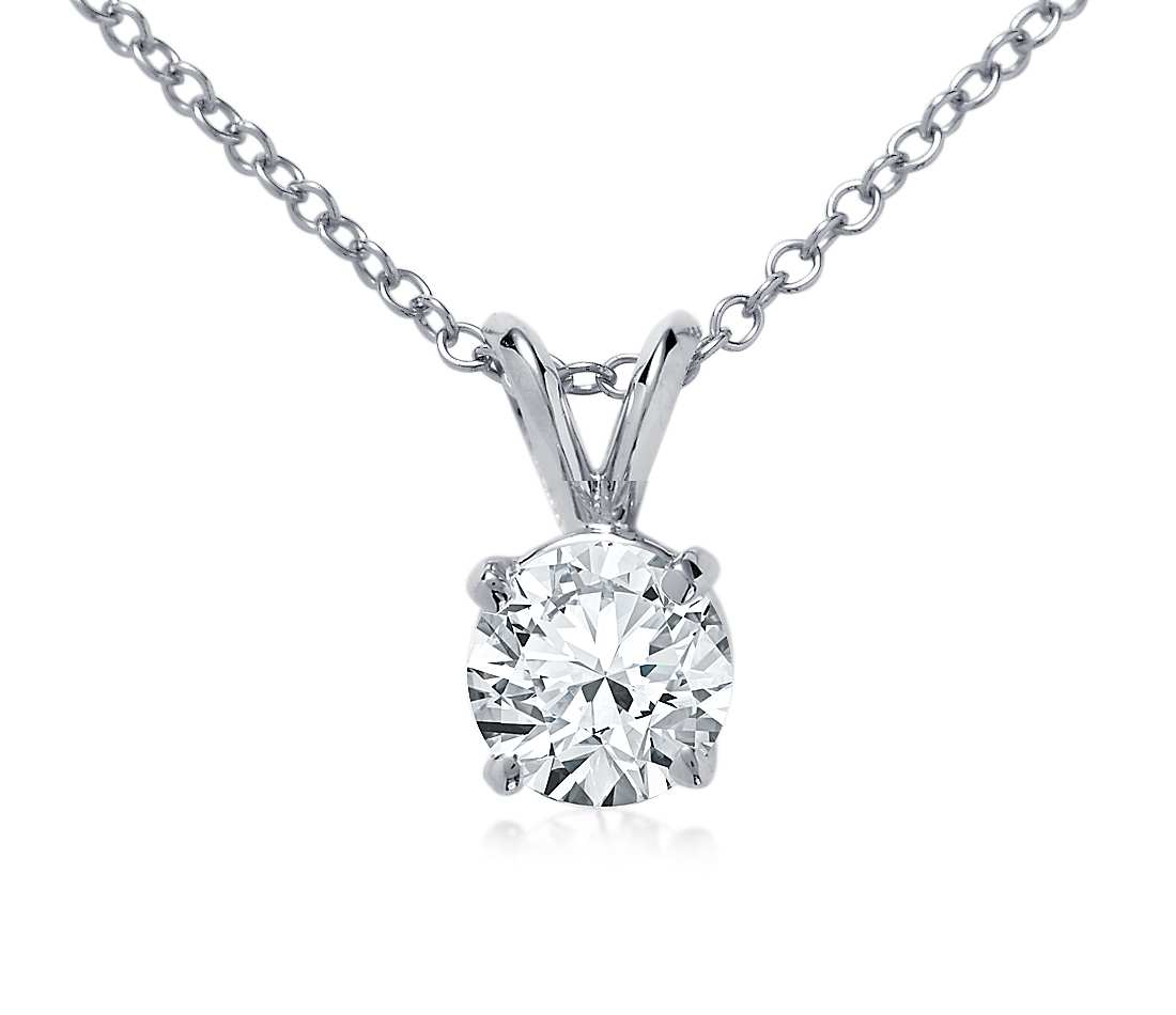 Round diamond pendant kleins jewelry round diamond pendant aloadofball Gallery