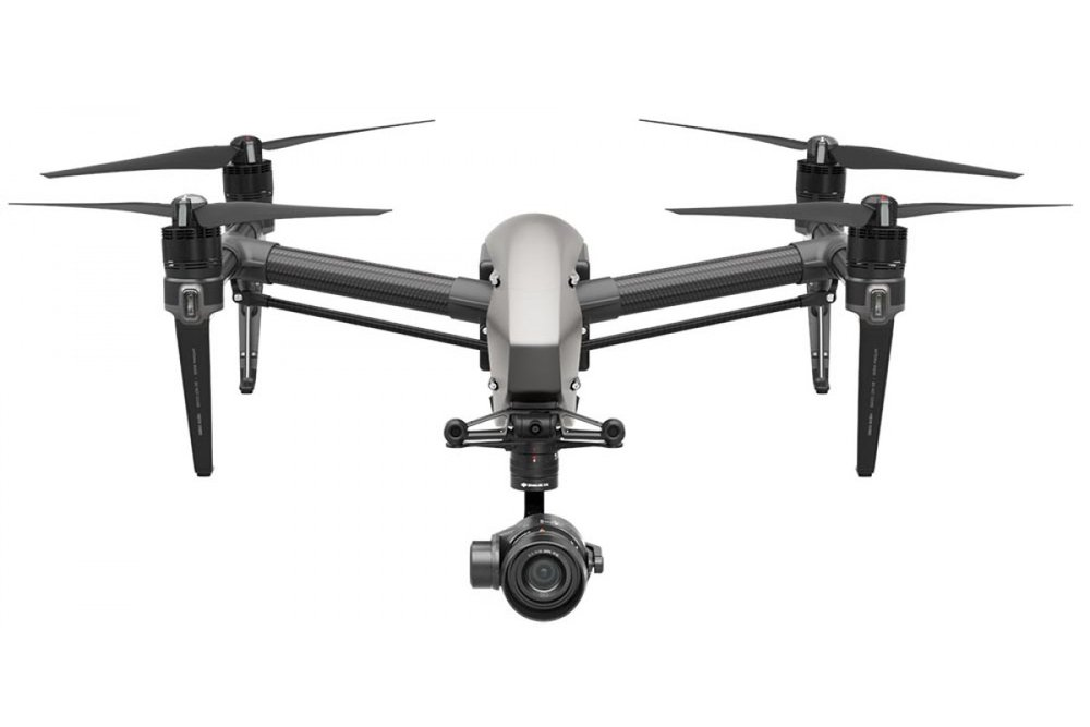 INSPIRE 2 - The Inspire 2 is a versatile aerial platform with an image processing system capable of recording at up to 5.2K in CinemaDNG RAW, Apple ProRes and more. With a top speed of 58mph (94kph) it has the performance and agility to make any shot possible. The dual battery and obstacle avoidance systems provides prolonged flight times to ensure your project is a success. This platform can be managed by either an individual or a pilot/camera operator team depending on the complexity of the shoot. Either way the robust technology makes this the perfect tool every pilot keeps in their back pocket.