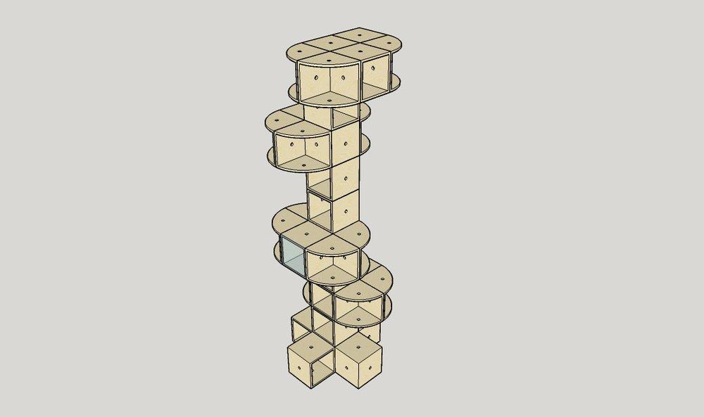 biblio toren met plateaus.jpg