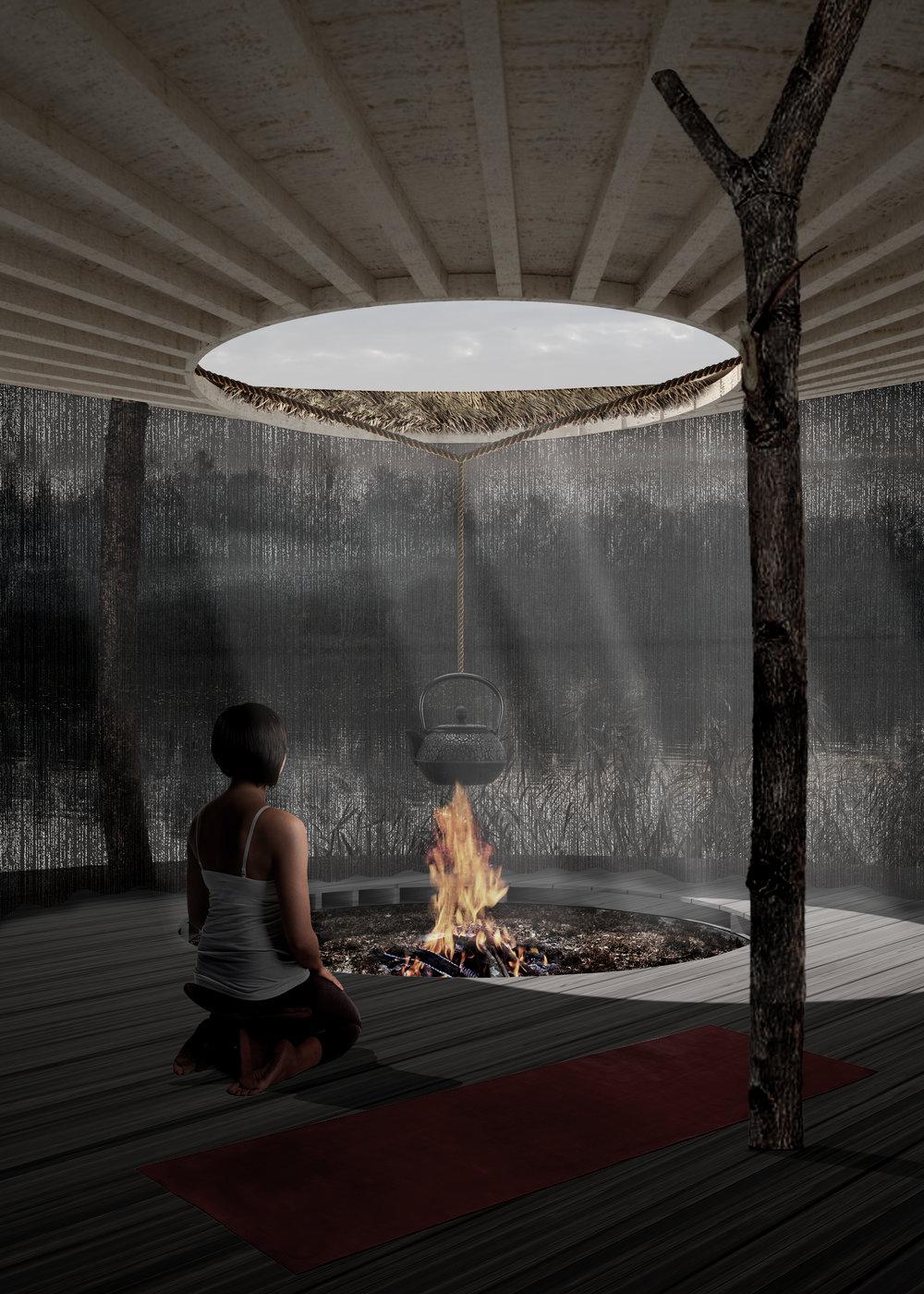 In collaboration with Veronika Volkova, and Yasamin Mayyas    A Primitive Silence, 2018