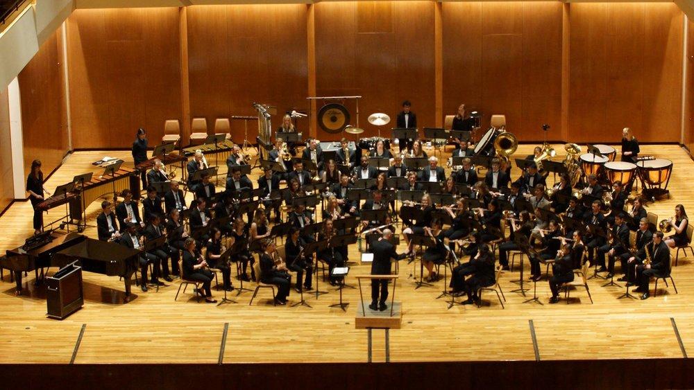 Campus Band - Joe Clark and Jason Gardner, conductors
