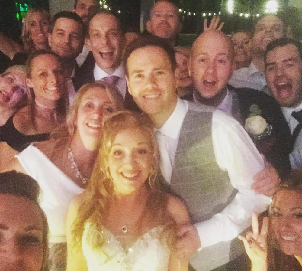 wedding band party band larmer tree wiltshire