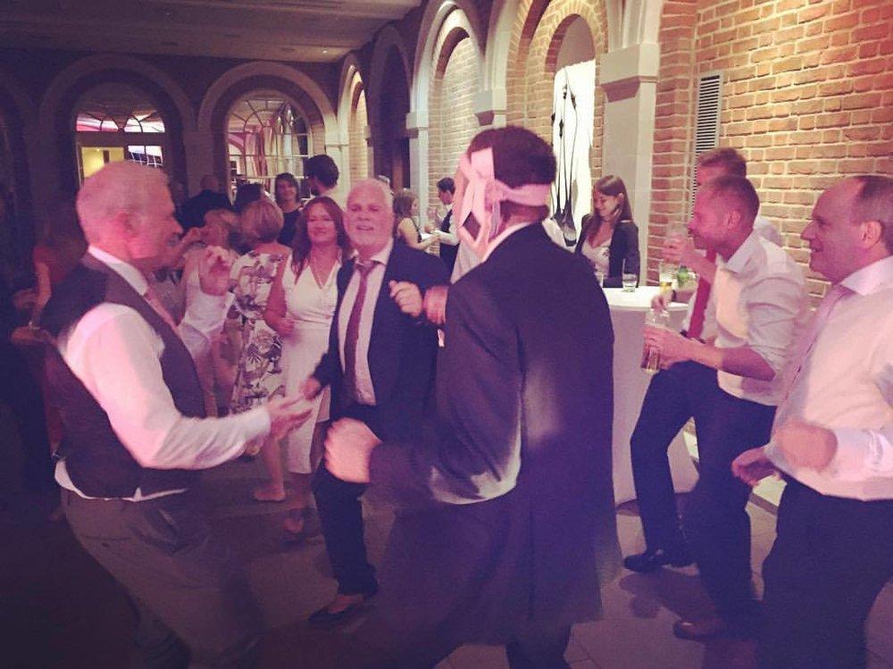 Wedding Band Dance Floor Dads Surrey
