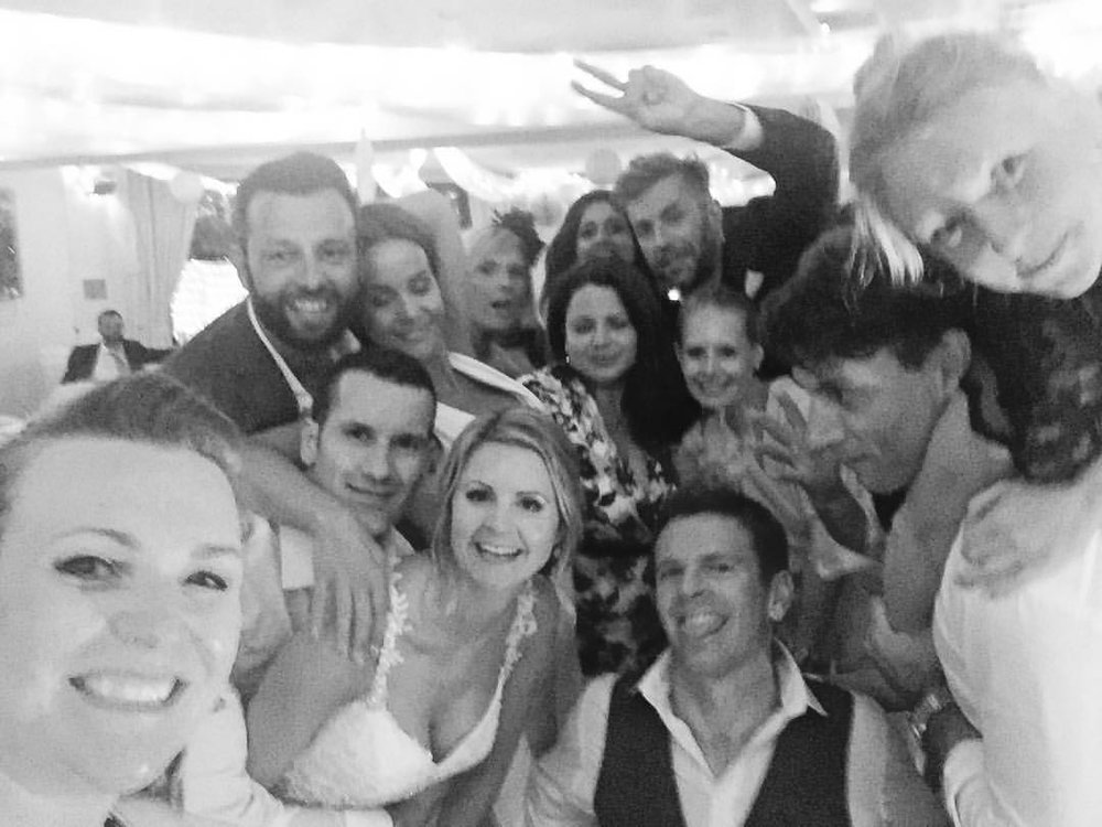wedding band selfie harbour heights poole