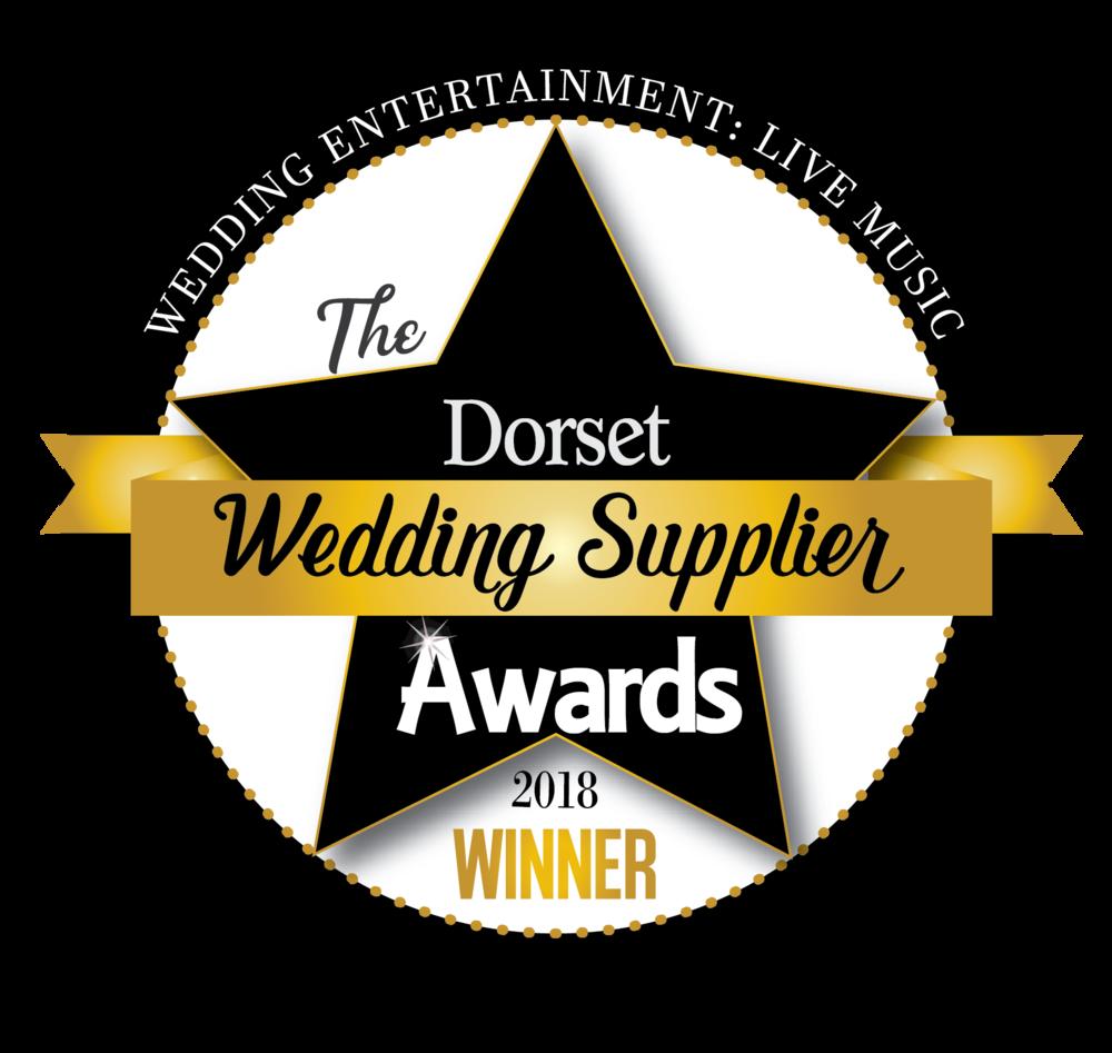 Dorset Wedding Awards 2018 WINNER