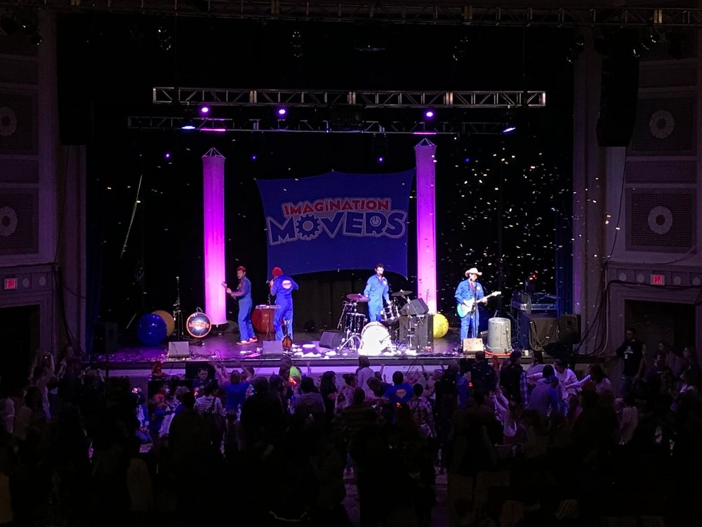 Imagination Movers at Memorial Hall