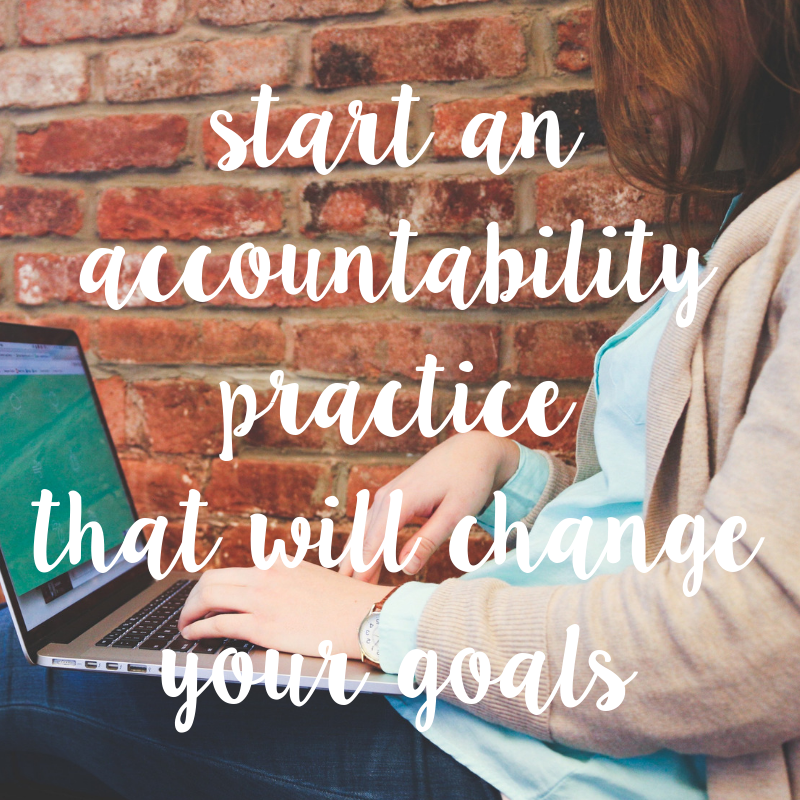 accountability Worksheet