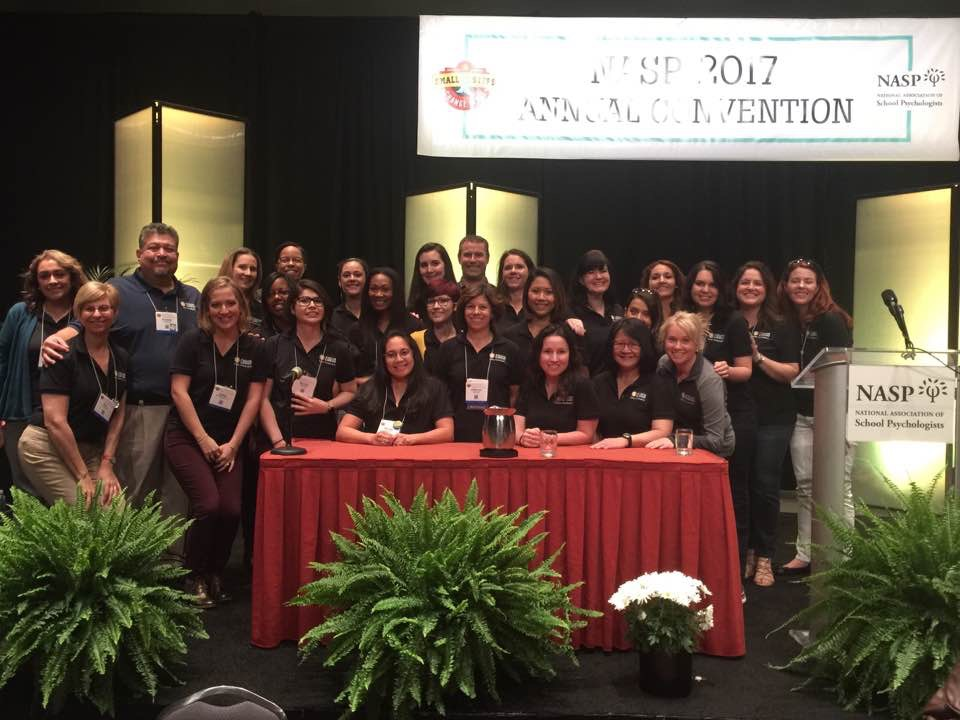 EGRASP members at NASP Convention, San Antonio,  Spring 2016