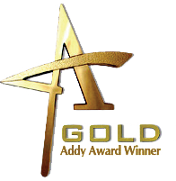 Gold at the ADDY Awards