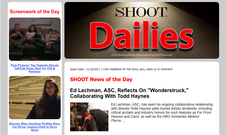 Shoot Dailies email blast.png