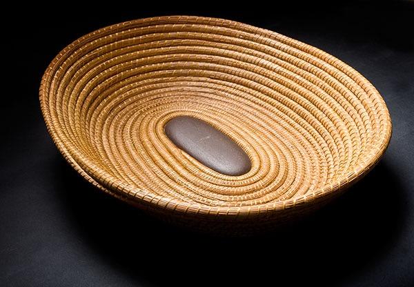 Snake River Stone Basket