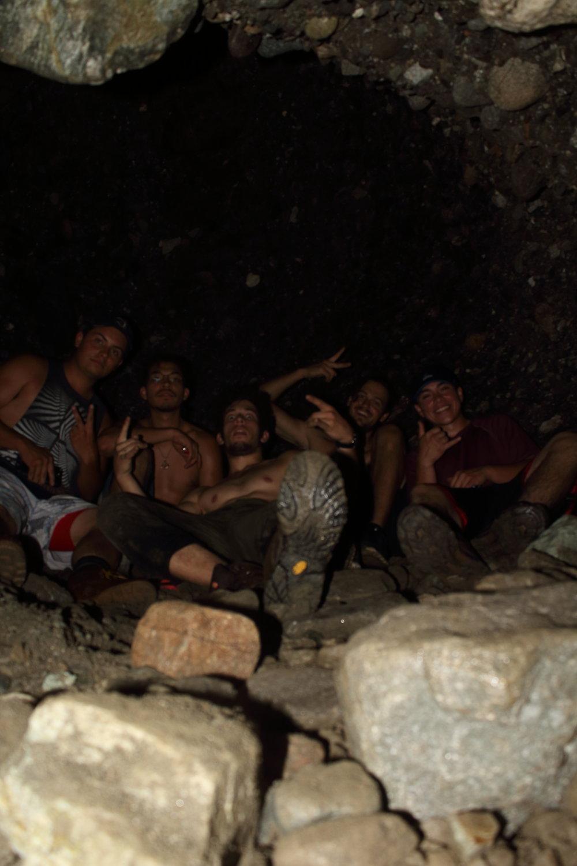 The Crew, Left to right, Jose, Julio, Daniel, Brandon, Sean