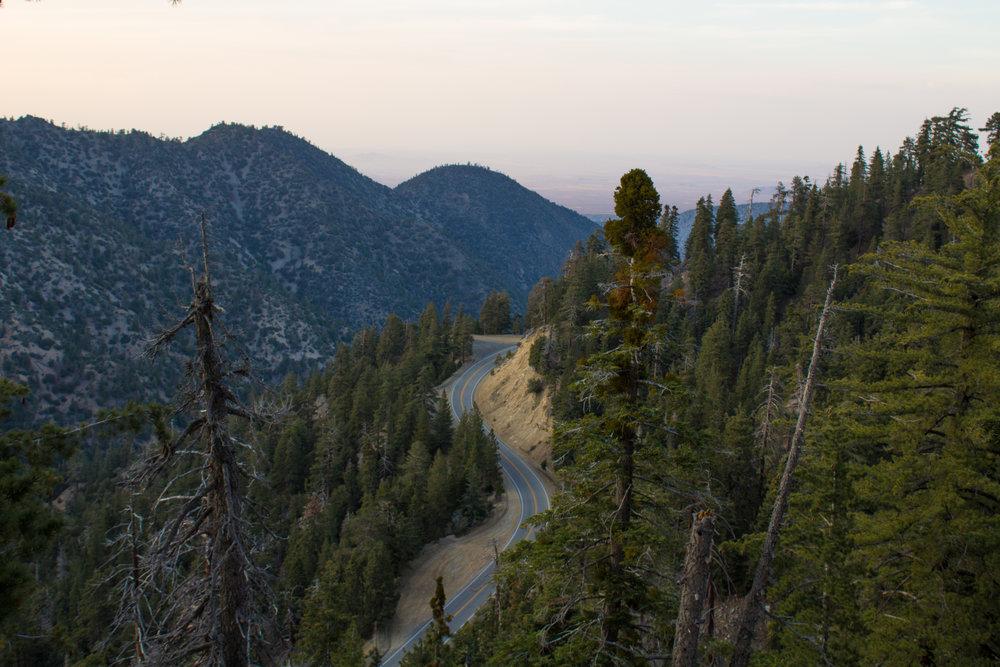 Angeles Crest Hwy. - Mt. Islip Hike