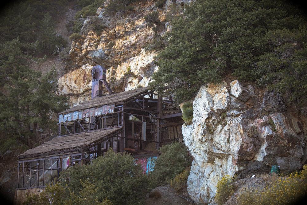 Big horn mine - Abandoned explorations