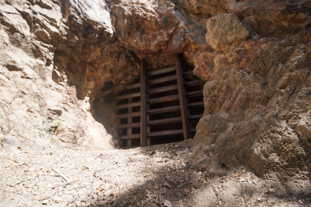 Upper entance of the mine. Closed off to the public.