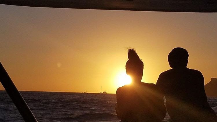 This photo was taken by a complete stranger. He was taking a picture of the sunset, and fortunately for us, we were in the way. He wanted to share it with us, and we are so grateful that he did!