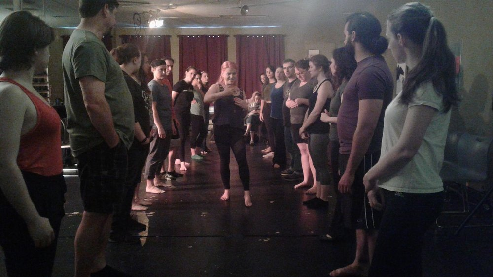 Intimacy for the Stage - with Intimacy Choreographer: Tonia SinaSpring 2017