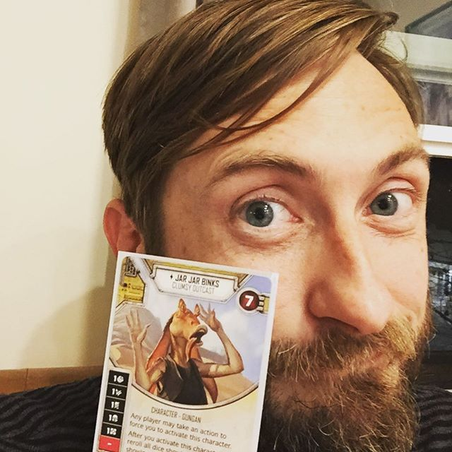 For the Empire! . . . #starwarsdestiny  #jarjar #boardgames