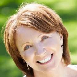 Happy Smiling woman transformed her life