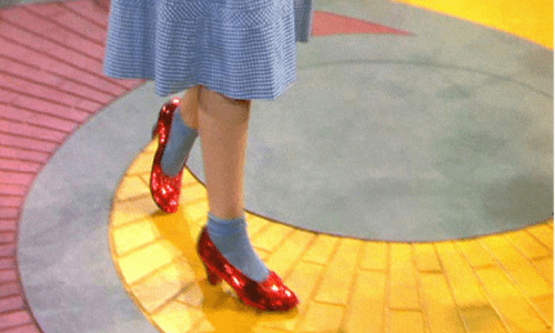 Claiming Our Ruby Slippers Like Dorothy